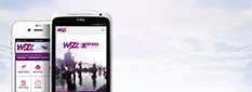 Wizz Air on your mobile
