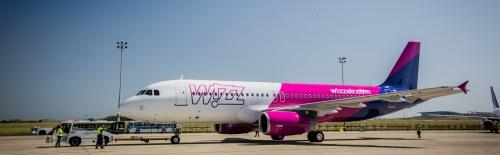 Wizz Air planes on the ground